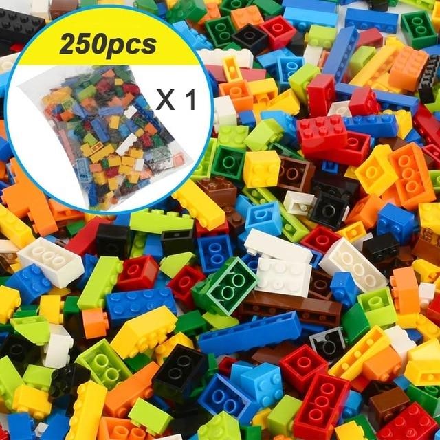 250-1000Pcs City Building Blocks Sets DIY Creative Bricks Legoes Friends Educational Toys for Children | Model Building