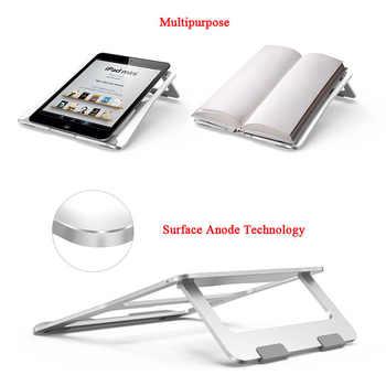Laptop Foldable Stand Aluminum Adjustable Desktop Tablet Holder Desk Table Mobile Phone Stand For iPad Macbook Pro Air Notebook