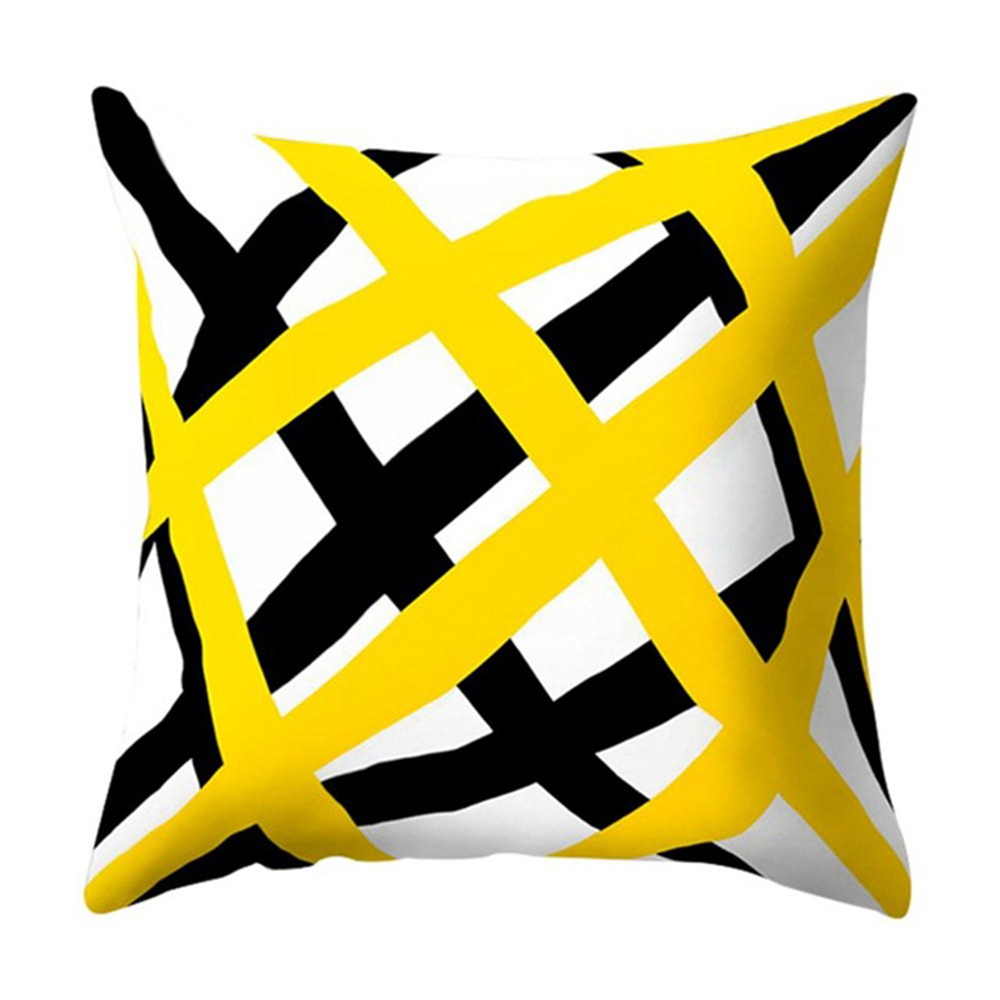 HTB1YiYuXvWG3KVjSZPcq6zkbXXaK Polyester Geometric Cushion Yellow Pineapple Pillow Decorative Cushion for Sofa DIY Printed Pillow Seat Chair Cushion