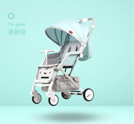 Baby stroller can sit reclining portable baby child stroller ultra light umbrella folding simple stroller