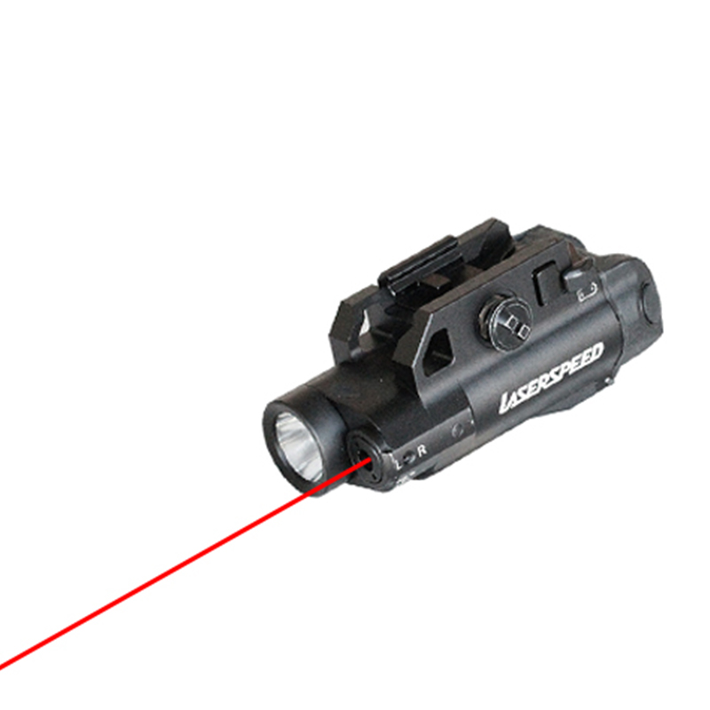 Drop shipping Laserspeed guns and weapons red laser sight and LED tactical flashlight combo for hunting