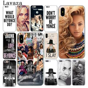 Lavaza Beyonce Giselle Knowles Hard Cover Case for Apple iPhone X XS Max XR 6 6S 7 8 Plus 5 5S SE 5C 4S 10 Phone Cases 8Plus
