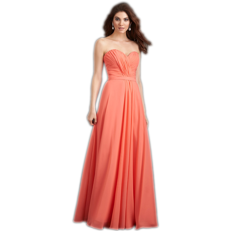 Coral Bridesmaid Dresses Maid of Honor Pleat Backless Chiffon Burgundy Long Prom Dress Formal Wedding Guest Women Dress Elegant in Bridesmaid Dresses from Weddings Events