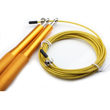 Fitness Jump ropes crossfit Adjustable Steel wire speed jump rope for Boxing training equipment skipping rope Gym Exerciser