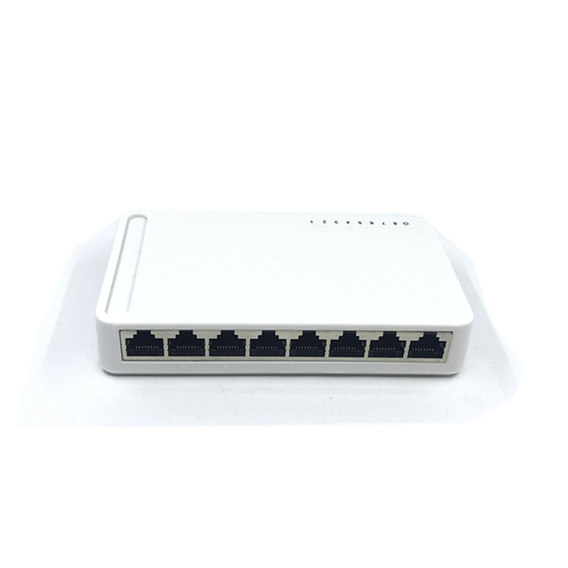 OEM New Model 8 Port Gigabit Switch Desktop RJ45 Ethernet Switch 10/100/1000mbps Lan Hub Switch 8 Portas