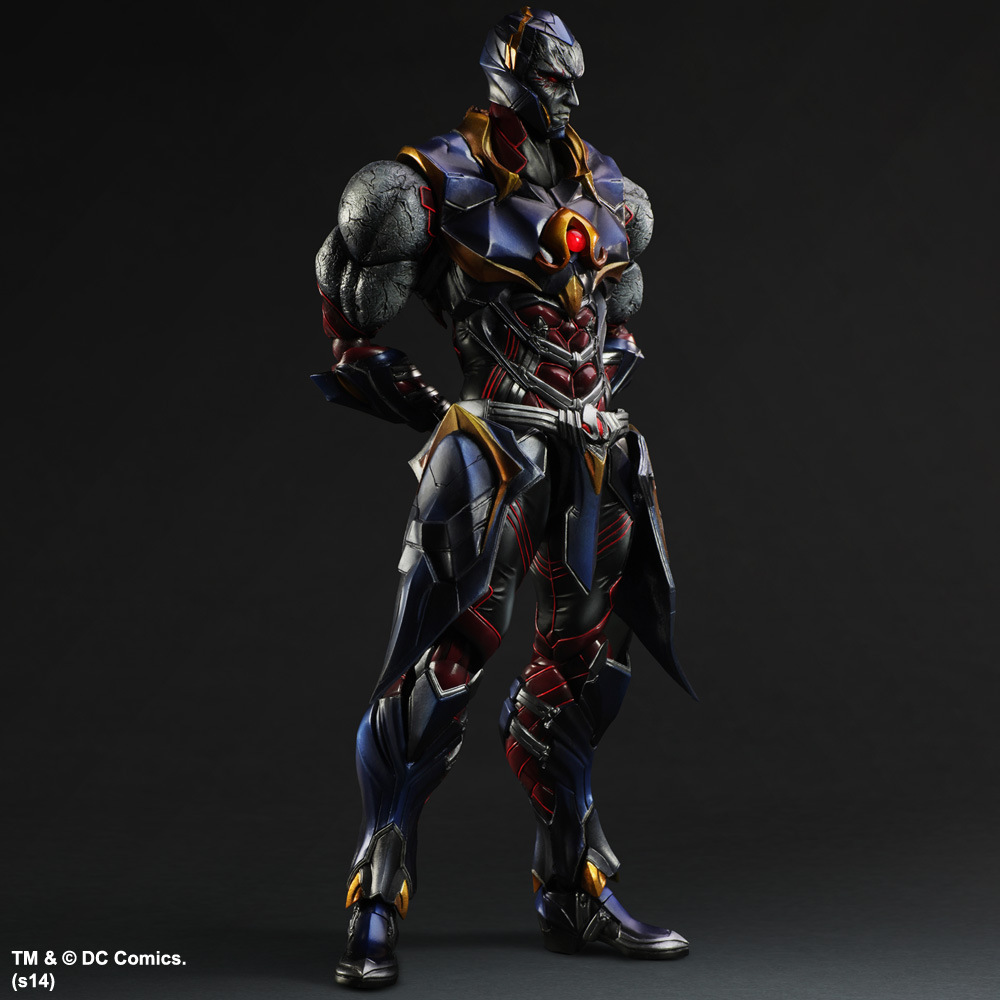 DC Comics Original Square Enix VARIANT Play Arts Kai Darkseid 28cm PVC Action Figure Collection Toy Doll