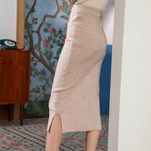 c142a23a1e53d Buy skirt knitted straight wool and get free shipping on AliExpress.com