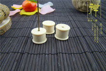 There are utensils imitation tooth cylindrical incense inserted aloes fragrance cone incense burner tube line barrel tube