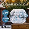 Promotion Zorb Ball 1.2 M gonflable pare chocs PVC chute sur l'activité adulte|Accessoires pour outils électriques| |  -
