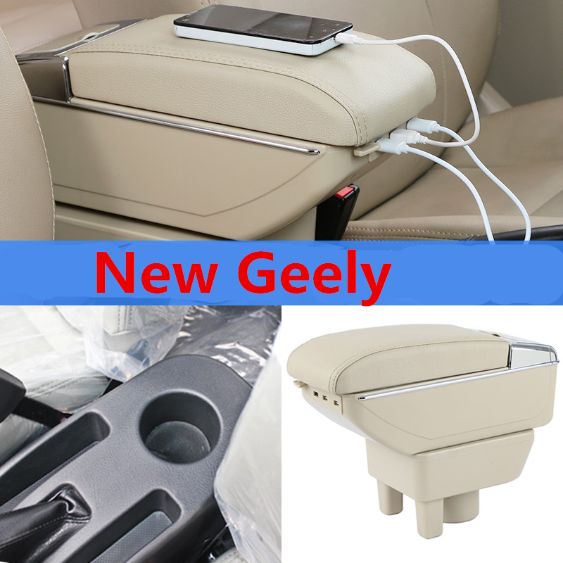 For New Geely CK armrest font b box b font central Store content Storage King kong