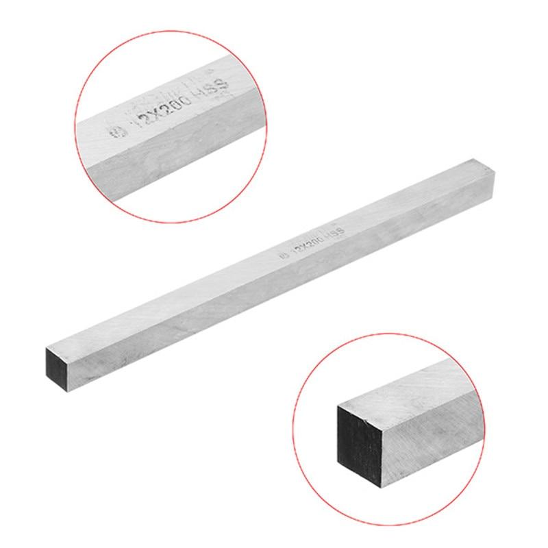 DANIU 1pc 200mm 10/12mm HSS Square Milling Engraving Lathe Tool Bit Turning Tool