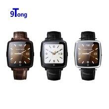 Nueva correa de cuero bluetooth smartwatch u11c smart watch conectividad soporte telefónico reloj de la tarjeta sim para ios/android teléfono
