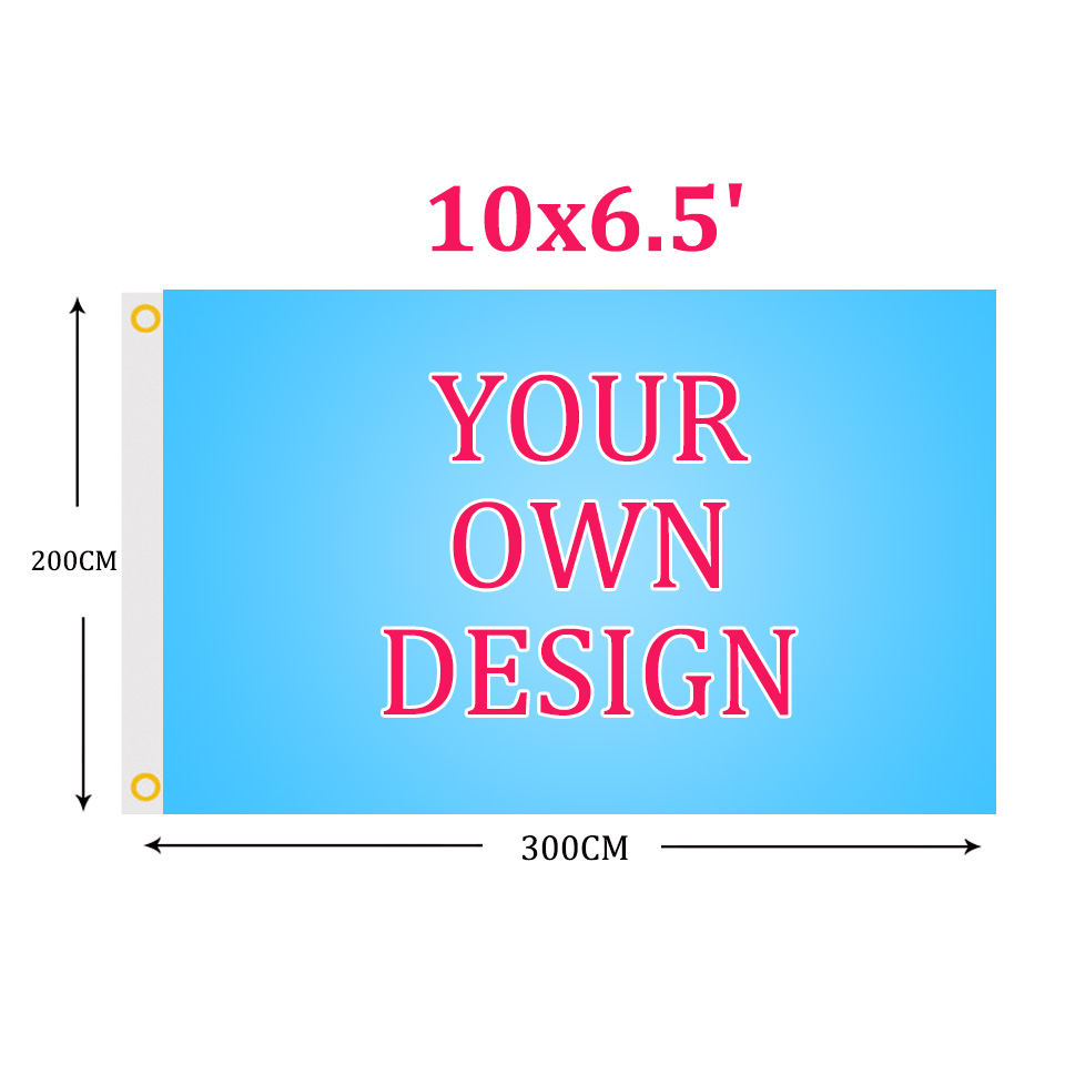 Custom flag 10x6 5FT Polyester all logo all color Customization flag Banners