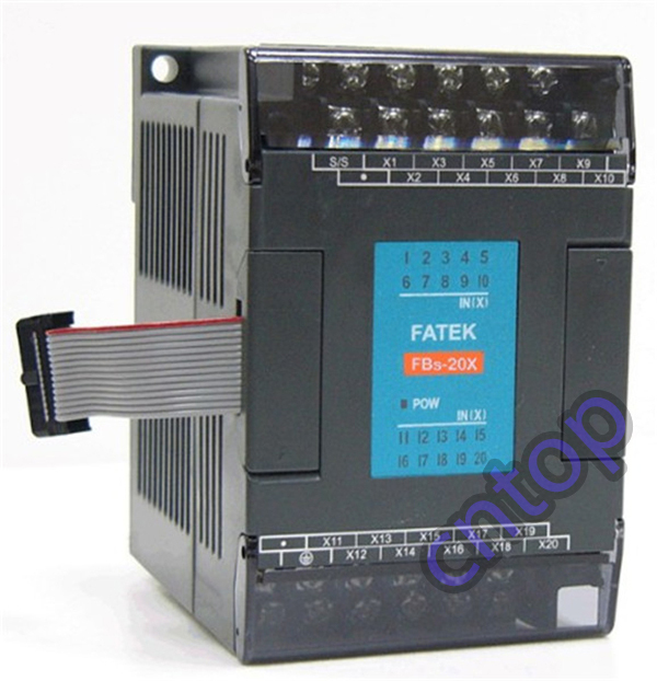 FBs-20X Fatek PLC 24VDC 20 DI Module New in box new and original fbs cb2 fbs cb5 fatek communication board