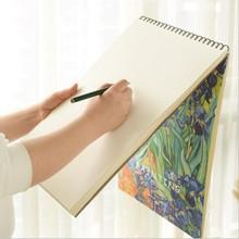 1 ud., Graffiti Vintage A4 A3, libro de bocetos, papeles de dibujo, plantilla de Pintura Artística, cuaderno de bocetos, papelería para estudiantes, regalo de cumpleaños