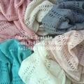 Fina e Macia Tecidos Tecidos de Malha Diamond & forma do Amor suéter de lã de algodão Do Bebê Recém-nascido Fotografia Prop Posando de Tecido