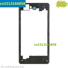OEM Real housing for Sony Xperia Z1 Compact D5503 Middle Plate  - Black/White