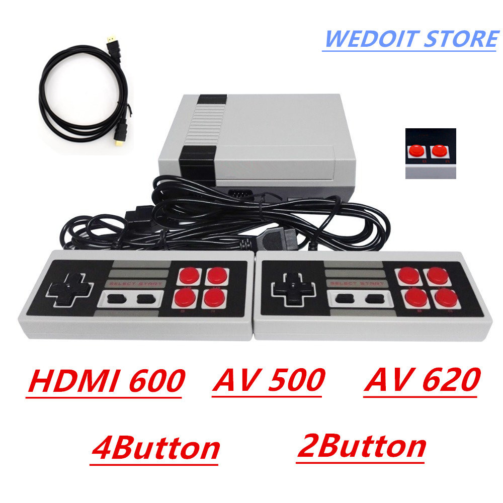 CoolBaby HDMI Out Retro Classic Game Player TV Video Game Consoles Childhood Built-in 600/500/620 Double handle control hd tv game consoles 4gb video game console support hdmi tv out built in 600 classic games for gba snes smd nes format tf card