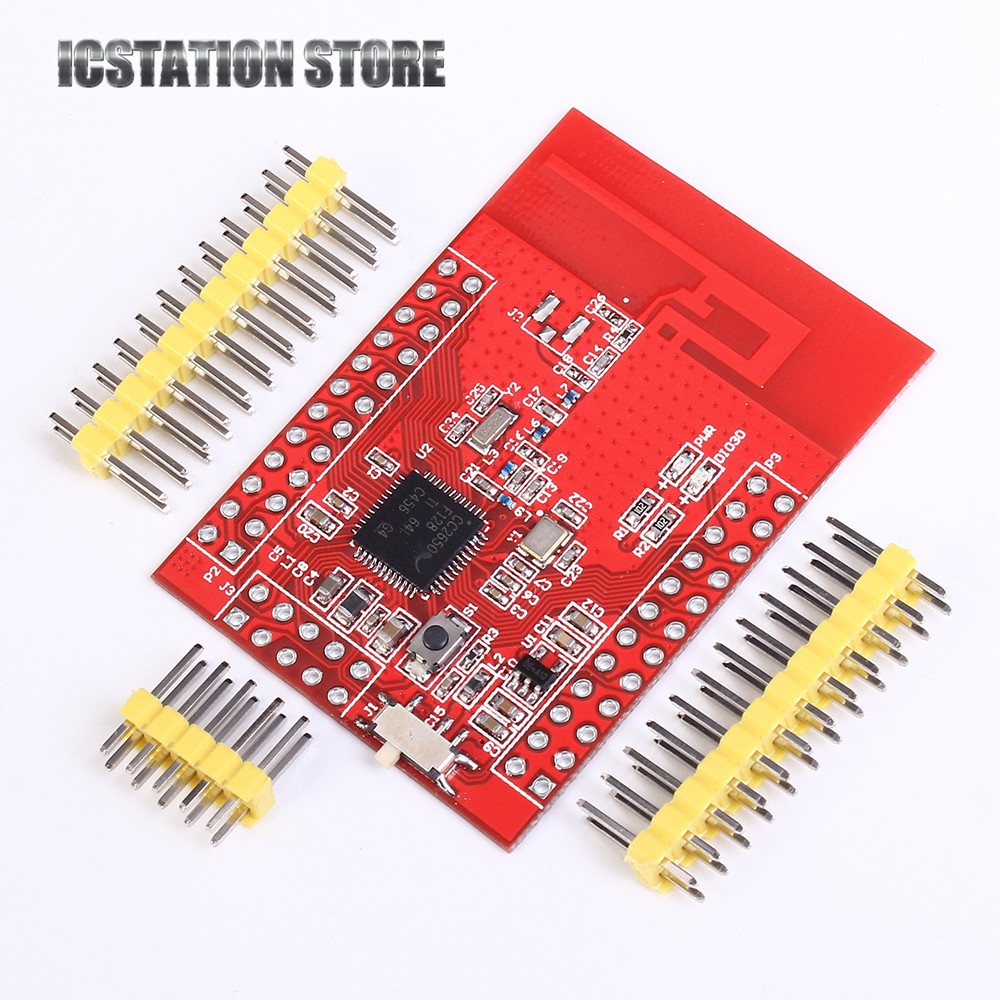 CC2650 CC2650F128RGZx Core Board Wireless Module M3 TI-TROS IDE IOT Development ARM Cortex-M3 2.54mm 48pin for Smart ZigBee zigbee cc2530 wireless transmission module rs485 to zigbee board development board industrial grade