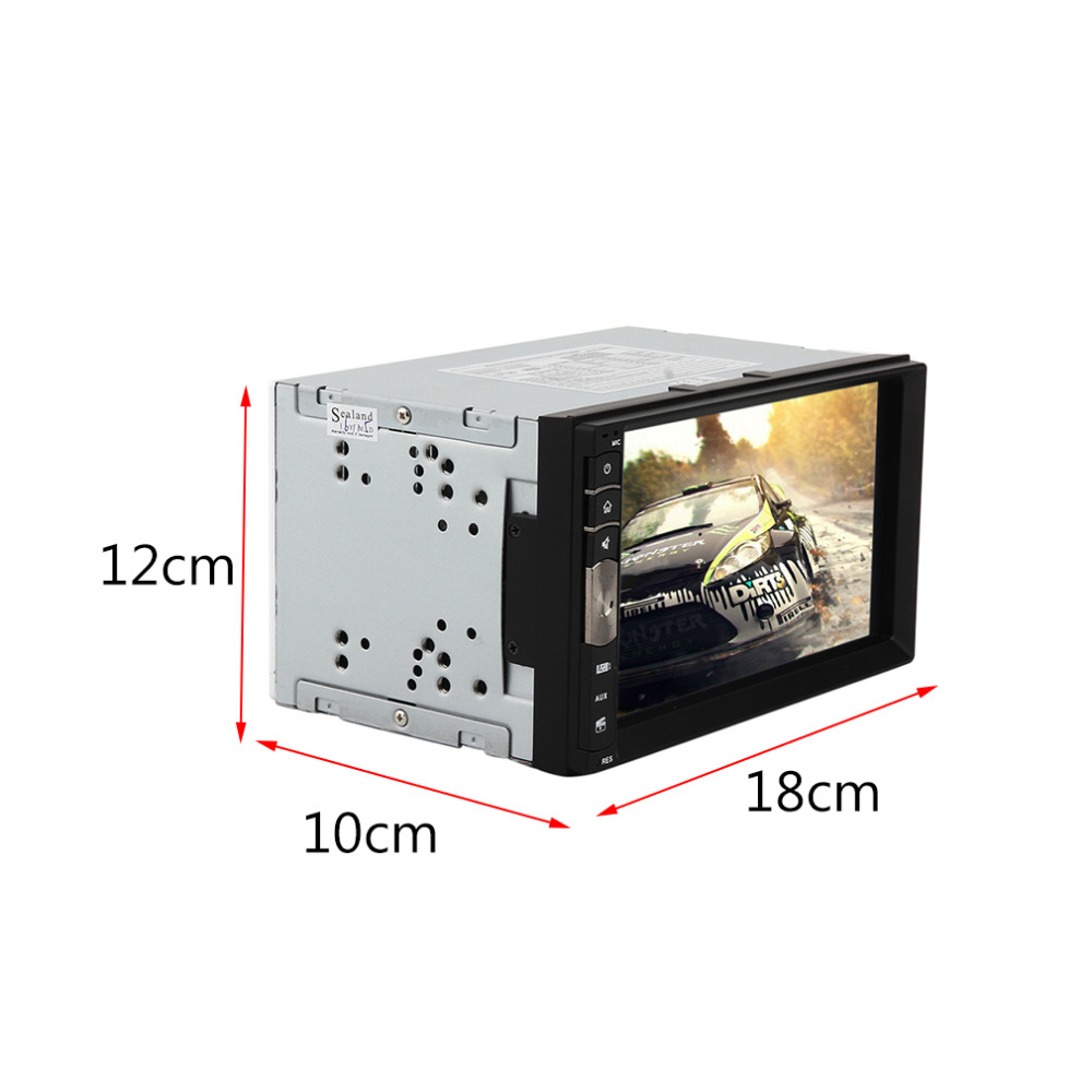 2017 Hot Sale Universal 7 Inch HD Screen Smart Car Vehicles Stereo Vedio Player Bluetooth 2.1 FM Radio/MP3/MP4/MP5 TFT