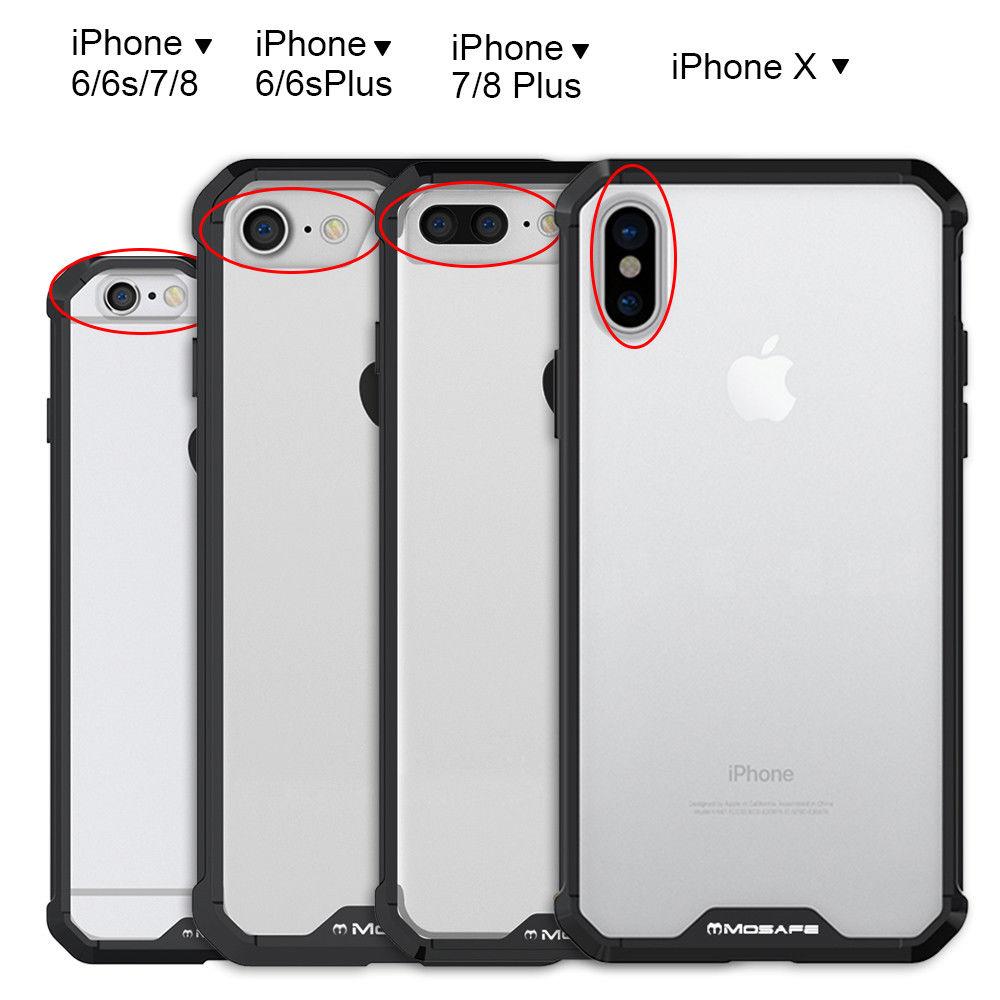 promo code 5e641 a8c33 € 5.13 5% de DESCUENTO|SuaGet para iPhone 7 8 protectora a prueba de golpes  a prueba acrílico Ultra Slim híbrido funda transparente para iPhone8 ...