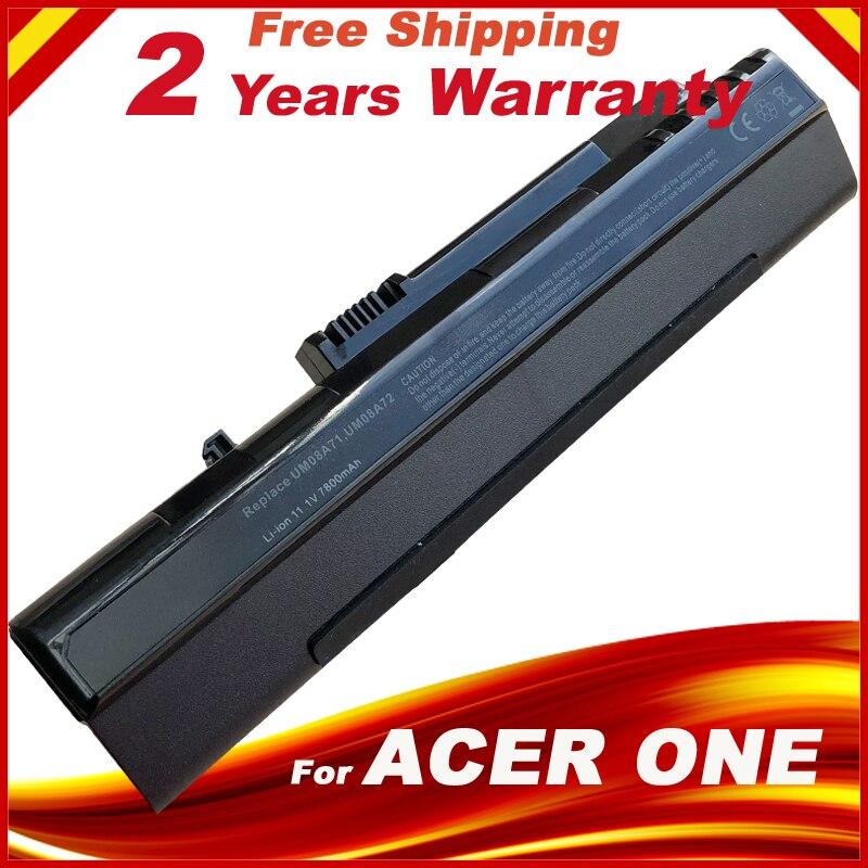 7800mAh Battery for Acer Aspire One A110 A150 D150 D250 UM08A31 UM08A51 UM08A71 UM08A737800mAh Battery for Acer Aspire One A110 A150 D150 D250 UM08A31 UM08A51 UM08A71 UM08A73
