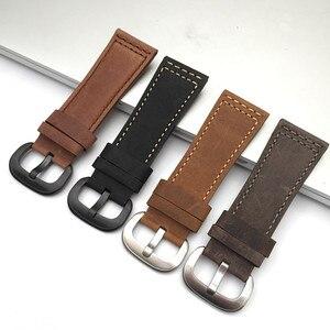 Image 5 - Nuovo di Alta qualità Cinturino In Pelle di Vitello Italiana con Spille Fibbia Nero Marrone SevenFriday M1