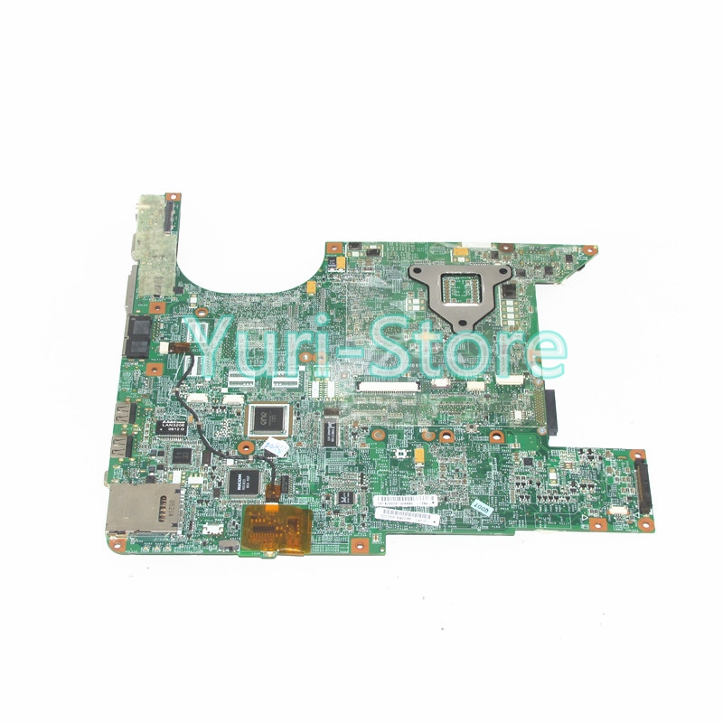 NOKOTION 460901-001 laptop mainboard for HP Pavilion DV6000 DA0AT3MB8F0 Compaq V6000 965GM & cpu 100% works 574680 001 1gb system board fit hp pavilion dv7 3089nr dv7 3000 series notebook pc motherboard 100% working