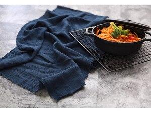 Image 3 - INS Fotografia rekwizyty Bump tekstura tkanina bawełniana do pieczenia drobnych produktów spożywczych Fotografia tło akcesoria dekoracja Fotografia