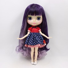 Elegant Factory Neo Blythe Doll Unique Skin Jointed Body Free Gifts 30cm
