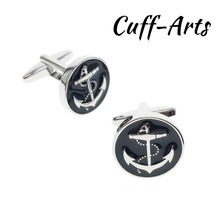 Cufflinks for Men Anchor Mens Cuff Jewelery Gifts Vintage by Cuffarts C10294