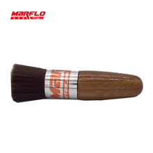 Marflo Car Wash Wood Long Hair Brush Window Leaves Blinds Cleaning Tools Cleaner Keyboard Dust Collector Auto Air Condition