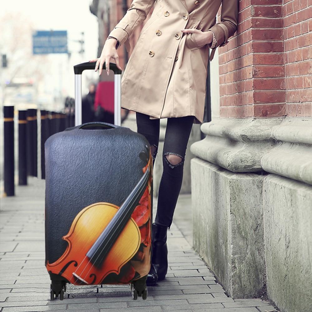 Čisti prtljažni pokrivači Voće 3D pokrivači za tisak za kovčege - Putni pribor - Foto 4