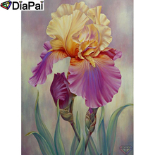 DIAPAI 5D DIY Diamond Painting 100% Full Square/Round Drill Flower landscape Diamond Embroidery Cross Stitch 3D Decor A21918 diapai 100% full square round drill 5d diy diamond painting flower landscape diamond embroidery cross stitch 3d decor a21095