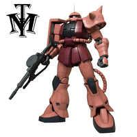 Figuras de acción de Gundam Zaku II para niños, modelo de traje móvil, MS-06F2, regalo de Navidad, caja Original de Robot, 1/48