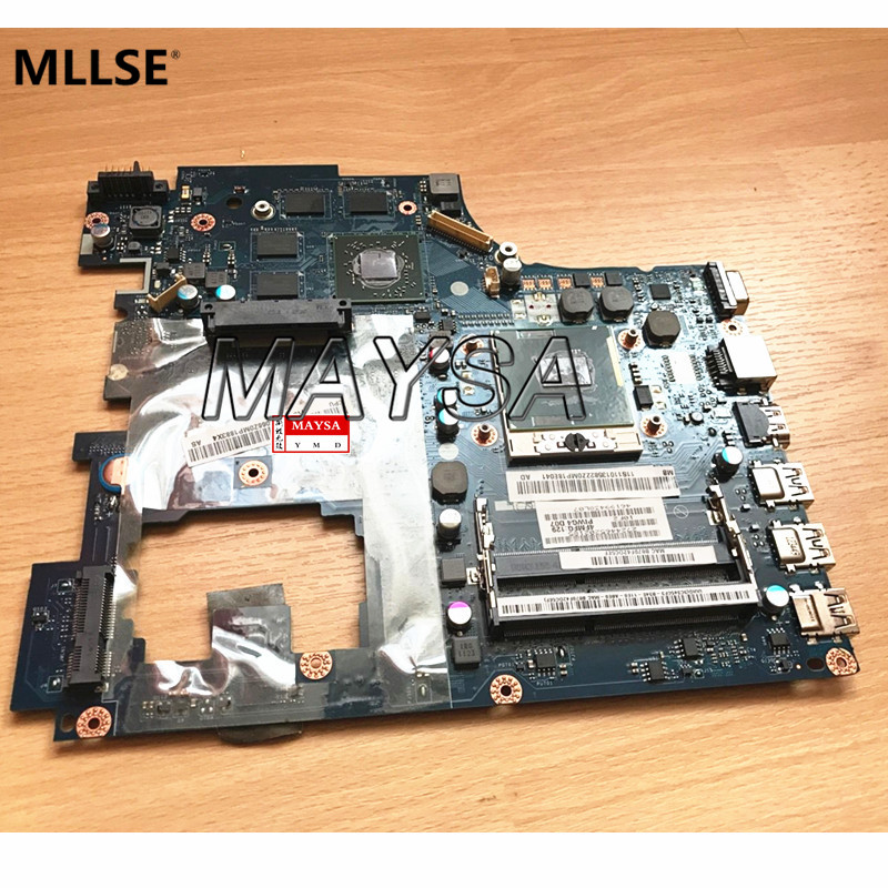 Laptop Motherboard Fit For Lenovo Ideapad G770 17'' PIWG4 LA-6758P Main Board HM65 PGA989 HD6650M 1GB 100% Fully tested quality 48 4pa01 021 lz57 for lenovo ideapad b570 b570e laptop motherboard 11013537 lz57 hm65 pga989 ddr3 410m 1gb fully tested