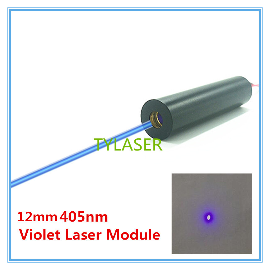 12mm 405nm Glass Lens 50mw 100mw 200mw Blue Laser Module Industrial Grade TYLASERS