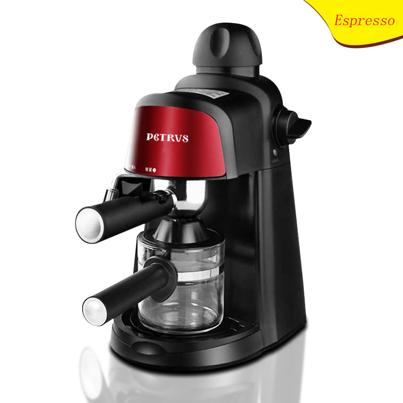PE3800 Espresso coffee machine Household Condensed steaming type Semi automatic frothed milk italy espresso coffee machine semi automatic maker cup warming plate kitchen