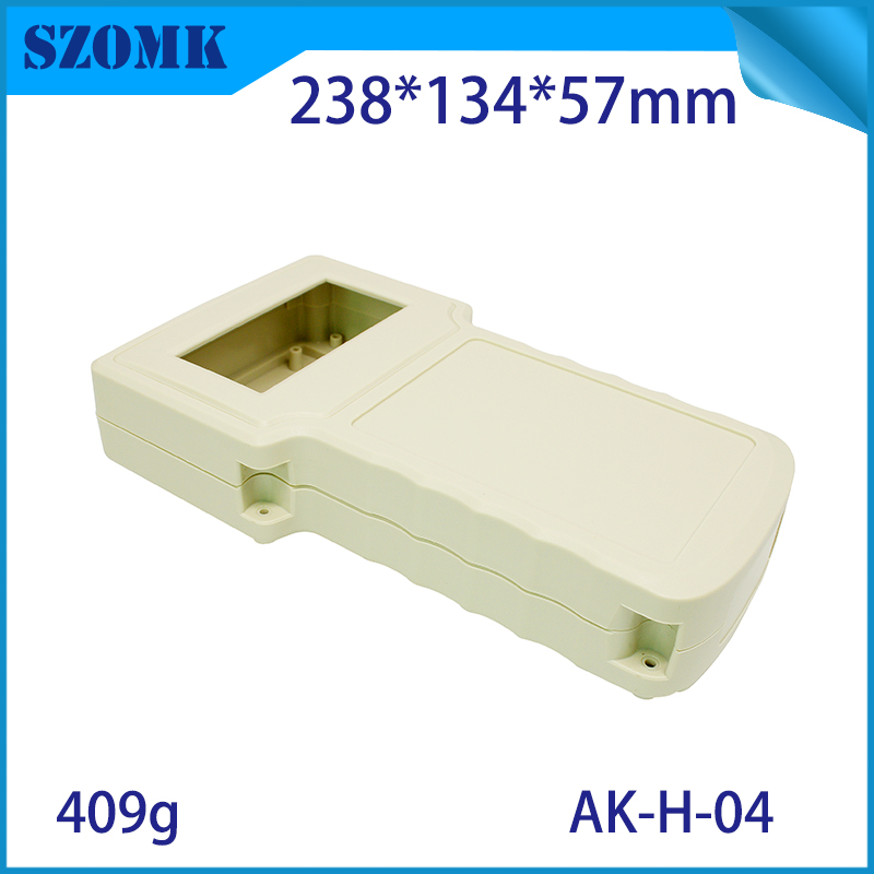 10pcs a lot handheld led junction box ABS housing plastic enclosure for electronic control box waterproof case 238*134*50mm 1 piece free shipping powder coating aluminium junction housing box for waterproof router case 81 h x126 w x196 l mm