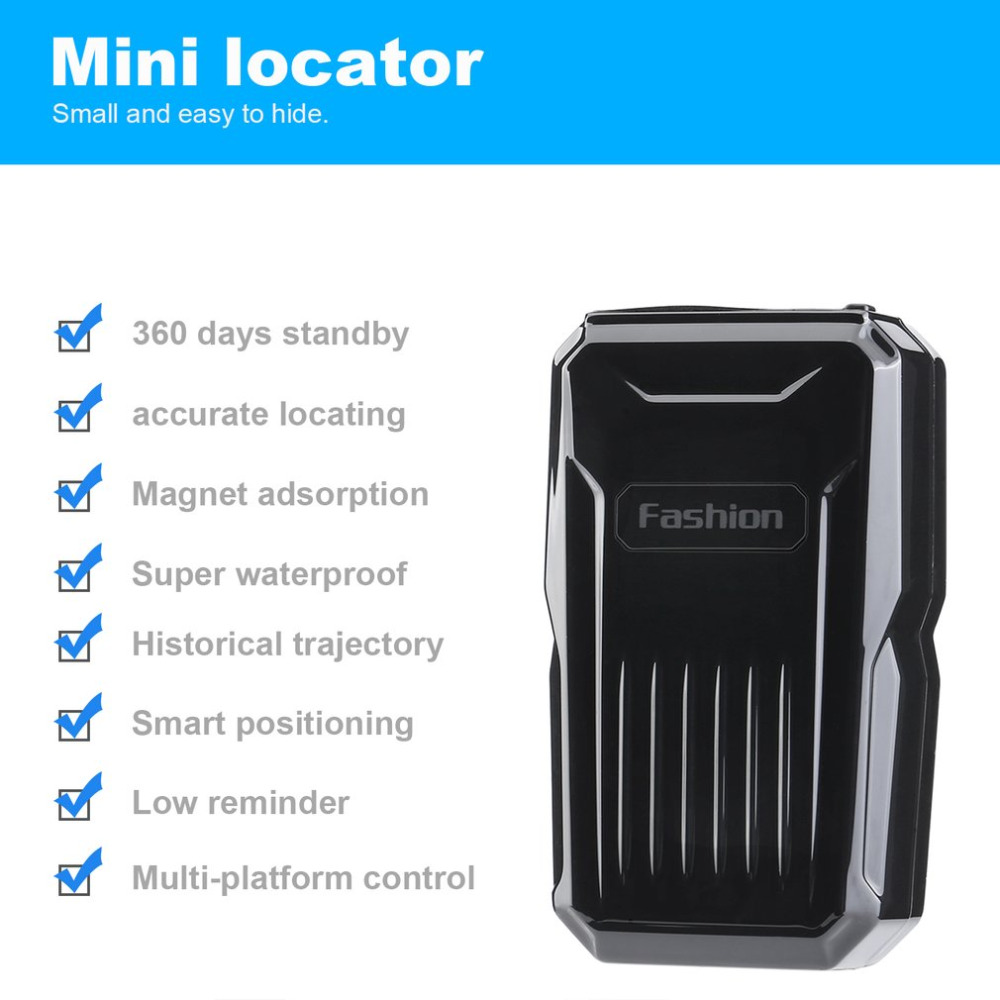 2017 Waterproof Car Tracking Locator Vehicle Gps Tracker C1 Strong Easy Fm Transmitter Magnetic Anti Loss System For Burglar Alarm Devices In Trackers From