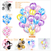 20pcs/lot 12 Inch Thick 5.6g Latex Helium Colour Balloon Wedding Decoration Inflatable Air Ball Birthday Party Supplies