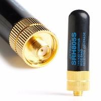 uv 5r uv SRH805S SMA-F נקבה Dual Band אנטנה עבור Baofeng GT-3 UV-5R BF-888s רדיו (4)