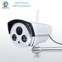 720P IP Camera WIFI 2.4G P2P Waterproof 20m IR Outdoor Home Garden Surveillance Camera W/ 16GB TF Card 12V Power Adapter Yoosee