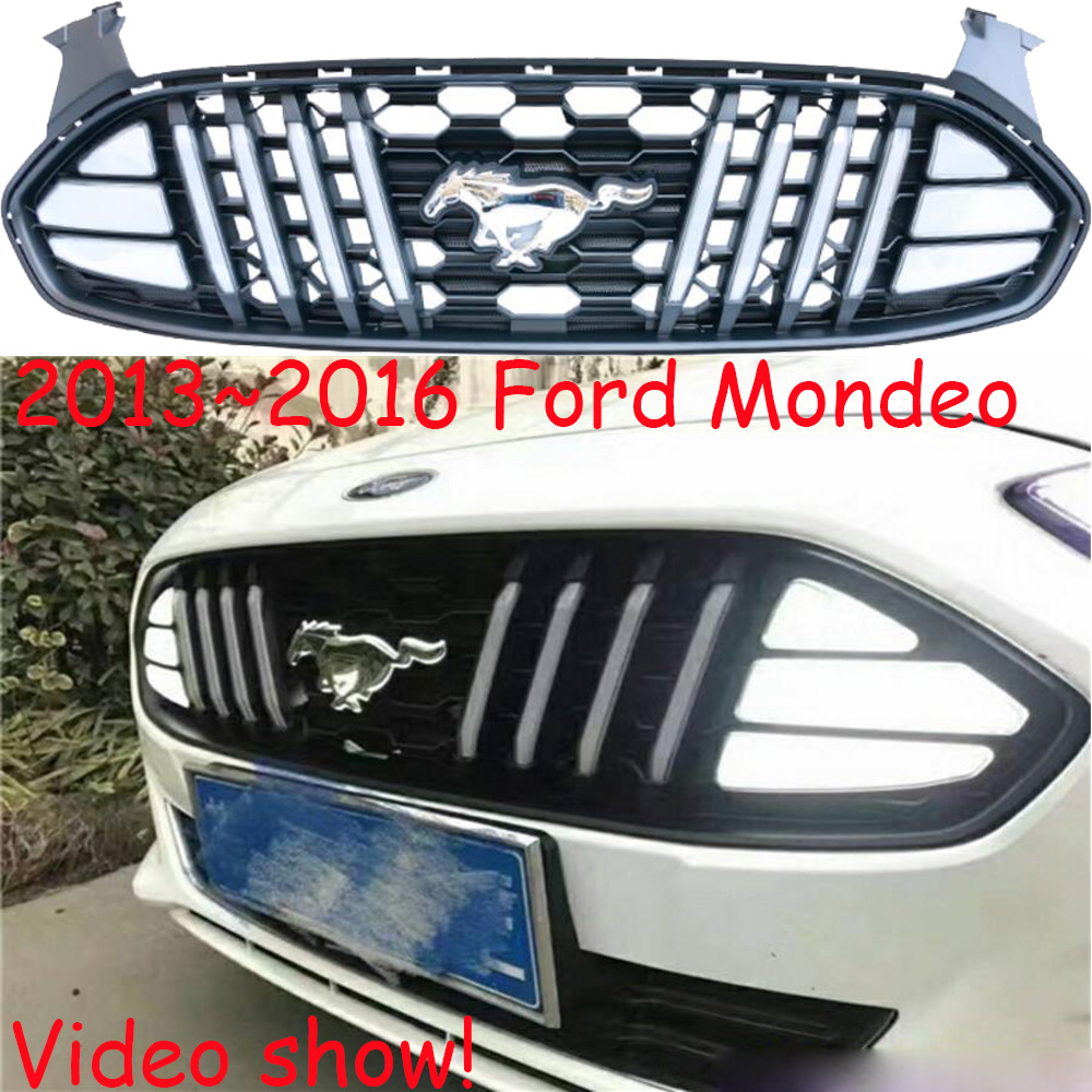 Dynamic Video,Monde daytime light;2013~2016,Free ship!LED,Bumper,Monde fog light,Transit,grille,taurus,Chromed;Monde headlight cl160162 citilux