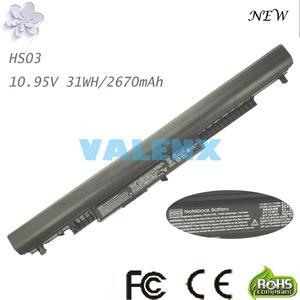10,95 V 31Wh ноутбук батарея HS03 для hp павильон 14-ac0XX 15-ac0XX 255 245 250 G4 240 HSTNN-LB6V 807611-831