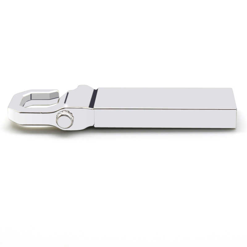 Metal USB Flash Drive 64GB 32GB 16GB 8GB Memoria USB 128GB Stick Pendrive Cle USB Silver / Gold