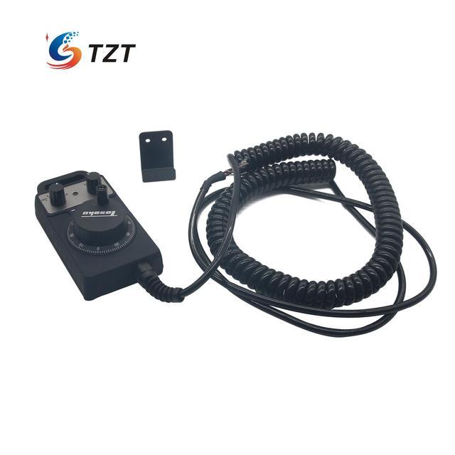 TZT TOSOKU HC115 CNC MPG Handwheel Handle Manual Pulse Generator 5V 25PPR/12V/24V 100PPR AS for Fanuc System
