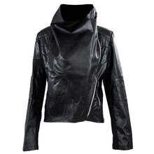 NEW Spring Autumn Women's Slim Biker Motorcycle PU Soft Leather Zipper Jacket Woman Coat
