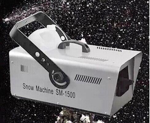 Machine d'effet de neige de pulvérisation de machine de neige de promotion des ventes 1500 w