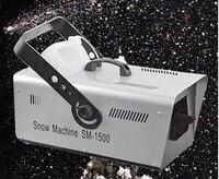 Sales promotion 1500w snow machine spray snow effect machine